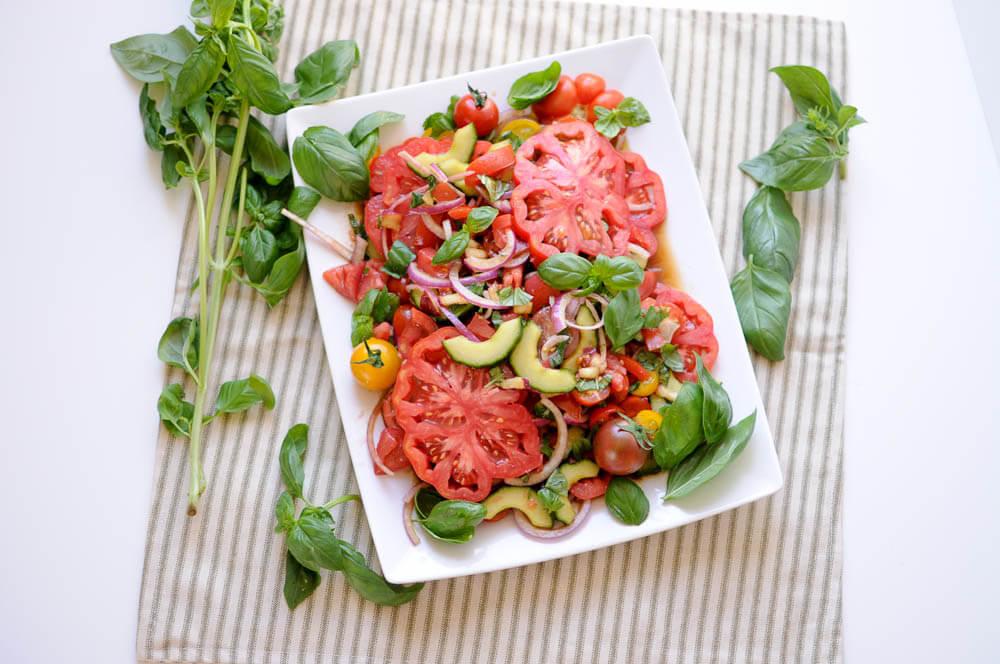 Heirloom Tomato Salad-9