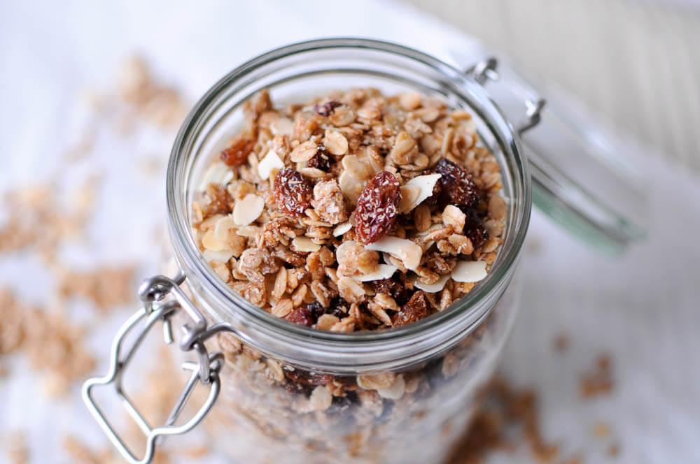 Oatmeal Raisin Cookie Granola-14