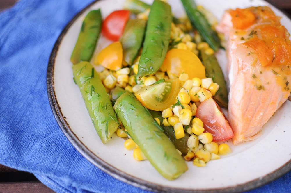 Grilled Corn Snap Pea Salad-7