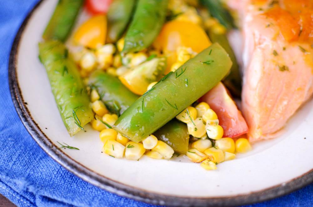 Grilled Corn Snap Pea Salad-8