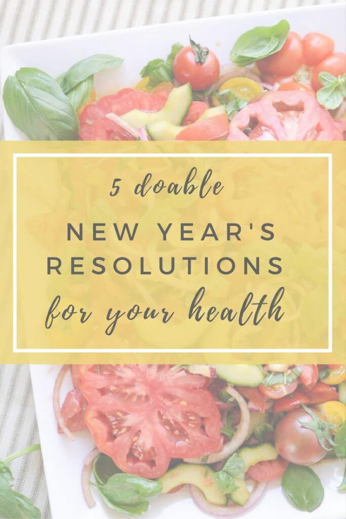 We are a few days into the New Year and it's time to get working on those resolutions! Need help with creation or want to check to make sure your New Year's Resolution is doable?