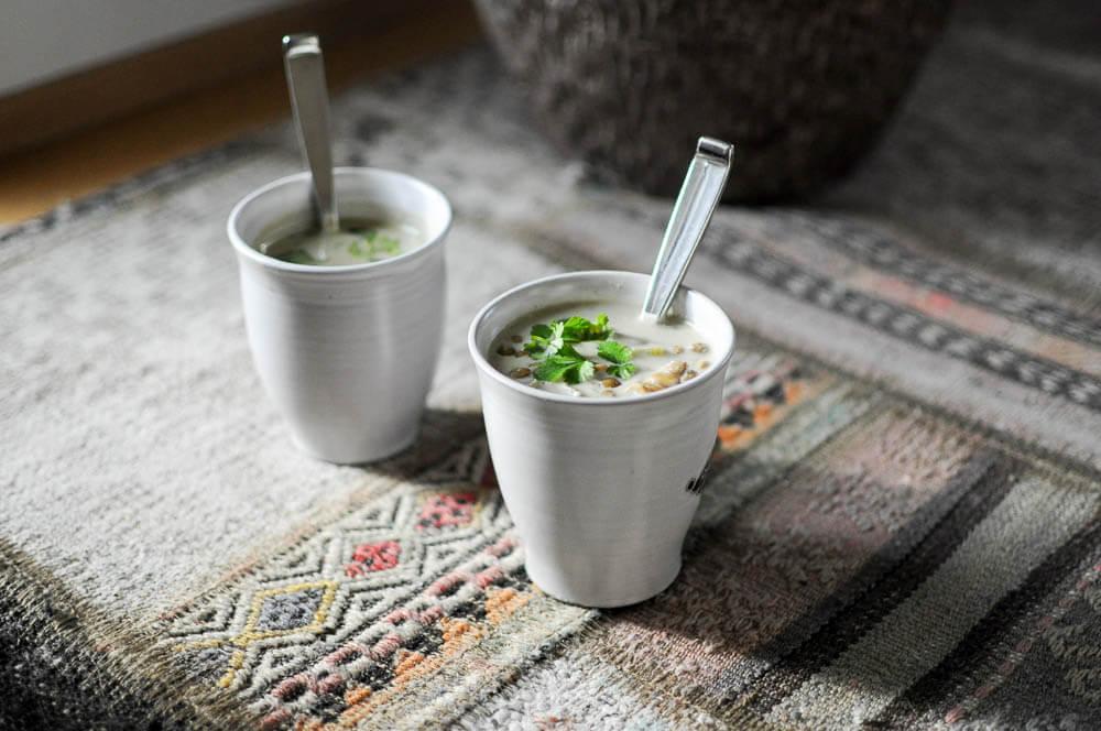 Green Lentil Curry Soup-5