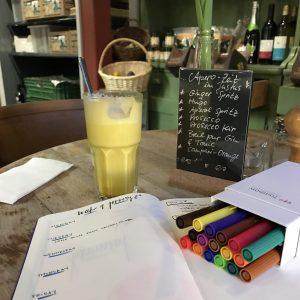 Turmeric Latte and Bullet Journaling